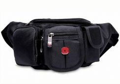 Original Swiss Men's Waterproof Pouch Bag