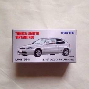 Tomica limited vintage neo honda civic type r 97'