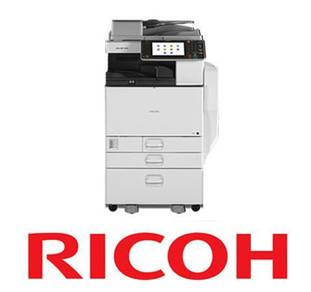 Scan Print MPC3502 3in1 Ricoh Rental Copier