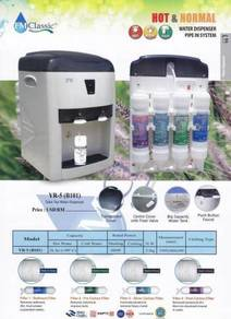7916.water dispenser/water filter mampu milik 2018