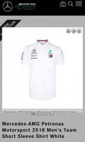 Petronas f1 mercedes 2018 team short sleeve