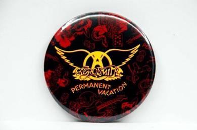 Badge MAGNET - AEROSMITH - Permanent Vacation CD