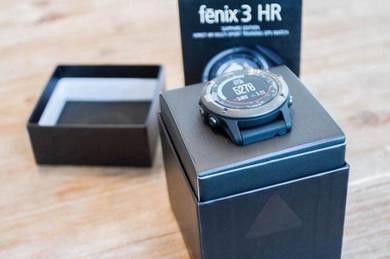 Garmin fenix 3 HR Sapphire GPS Watch