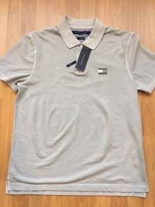 Tommy Hilfiger grey polo size M Brand NEW w tag