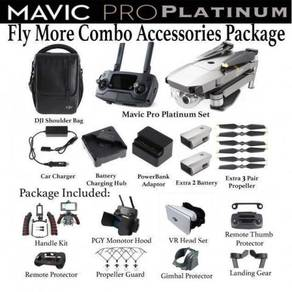 DJI Mavic Platinum Fly More Combo Set Accessories