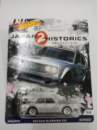Hotwheels Datsun Bluebird 510 Japan Historics