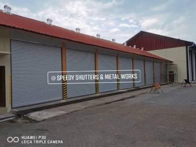 Roller Shutter Door service and install