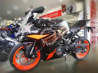 KTM RC 200 (muka rendah) (online apply)