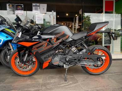 Ktm rc200  deposit easy approve
