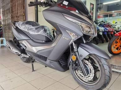 Modenas elegan 250 abs (ready stock) 2021 (DP1000)