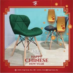Emmi Chair - Modern Dining Chair PU Minimalist Vin