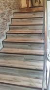 Wood PVC 3mm Flooring >> Skirting >> Platform Step