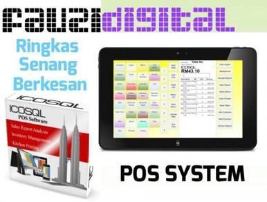 Computer pos system mesin cashier basic ver1.34121