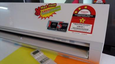 New TOSHIBA 1.0hp Air Conditioner H10S3k