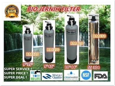 Water Jernih Filter / Penapis Air siap pasang 6k1s