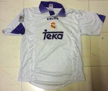 RARE Vintage Real Madrid Home Classic Jersey Kelme