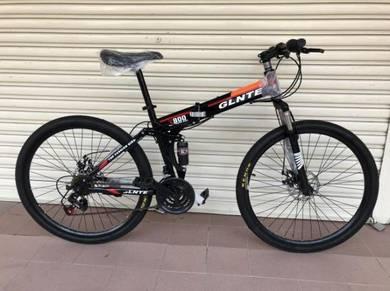 26er FOLDING MOUNTAIN BIKE BASIKAL 21S BICYCLE