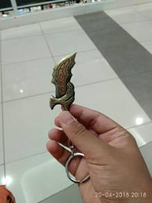 Keychain limited edition god of war