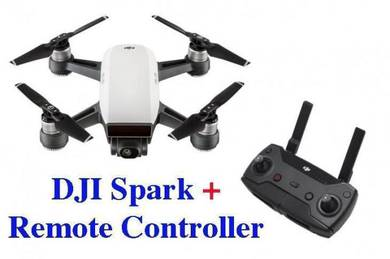 DJI Spark come with Remote Controller