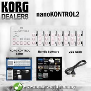 Korg NanoKONTROL2 USB Slim Line MIDI Controller Na