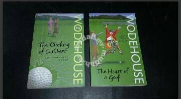 2 PG WODEHOUSE NOVEL BOOK Buku
