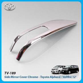 Toyota vellfire alphard estima side mirror trim