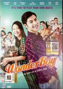 Singapore Chinese Movie DVD Wonder Boy 音为爱