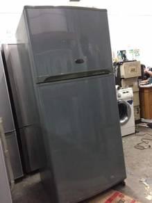 Sharp 2 doors big fridge Peti Sejuk Ais