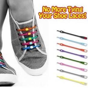 Lazy Silicone Shoe Lace ( 1 set 12 pieces )
