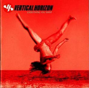 CD Cover - VERTICAL HORIZON - Everything You Want