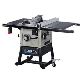 Delta 15 Amp 10 in. Left Tilt Contractor Saw