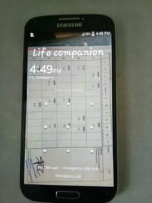 Samsung s4 untuk dilepaskan