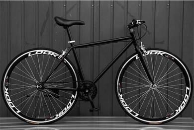 New FIXIE BIKE FLAT BIKE Basikal 700c Bicycle