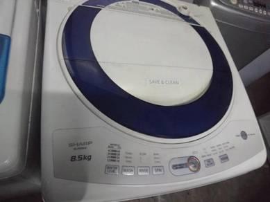 Washing Machine Sharp 8.5kg Washer Mesin Basuh