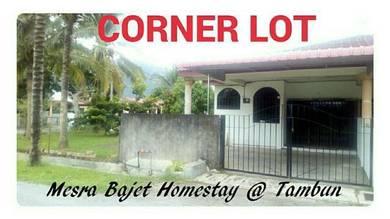 Rumah inap tambun/corner lo