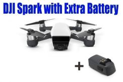 DJI Spark come with Extra Battery (Ready Stock)