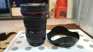 EF 16-35mm f2.8 wide angle L lens