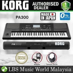 Korg PA300 61 Keys Professional Arranger Keyboard