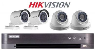 CCTV 4 Channel HD Package with installation