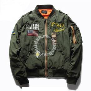 M-ONE baseball jacket collar