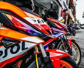Honda Rs150 MM93 Edition 2021 Loan Kedai