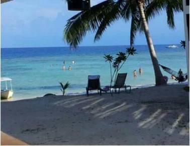 Tanah dan chalet tepi pantai pulau perhentian untuk dijual
