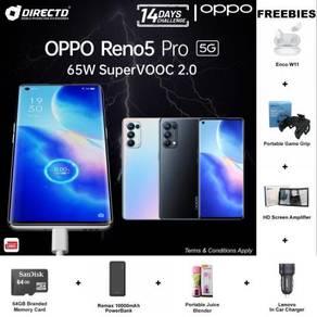 OPPO Reno 5 PRO (12GB RAM/256GB/S.AMOLED) 6 GIFTS