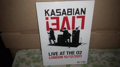 CD Kasabian - LIVE CD/DVD