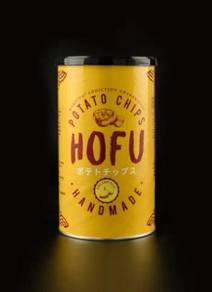 Hofu Salted Egg Potato Chip (Thick-Cut) 160g