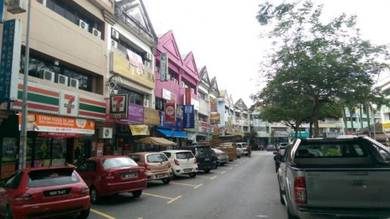 Wangsa Maju 3 Storey Shop Lot Section Seksyen 1 High Roi Setapak