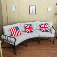 Union jack Pillow case Cushion cover - chair sofa