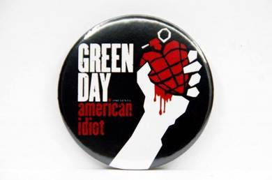 Badge MAGNET - GREEN DAY - American Idiot CD