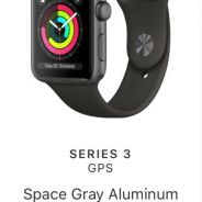 Apple Wacth Series 3 - GPS (New Box In Sealed )