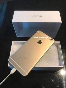 Seconhan 128g iphone ,6 gold
